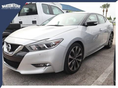 2017 Nissan Maxima for sale at BARTOW FORD CO. in Bartow FL