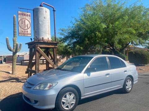 2005 Honda Civic for sale at Double H Auto Exchange in Queen Creek AZ