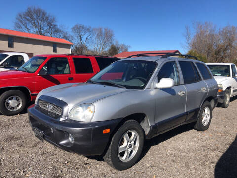 2004 Hyundai Santa Fe for sale at Wolff Auto Sales in Clarksville TN