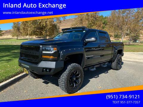 2016 Chevrolet Silverado 1500 for sale at Inland Auto Exchange in Norco CA
