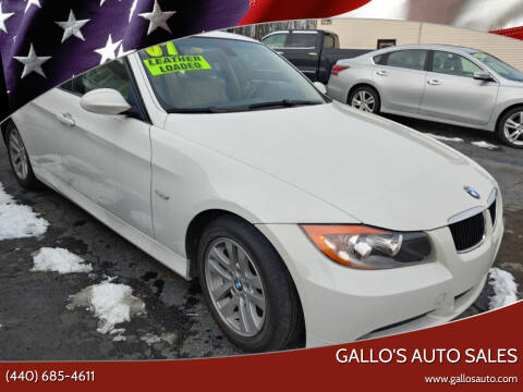 2007 BMW 3 Series for sale at Gallo's Auto Sales in North Bloomfield OH