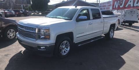 2014 Chevrolet Silverado 1500 for sale at N & J Auto Sales in Warsaw IN