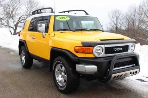 2007 Toyota FJ Cruiser for sale at Harrison Auto Sales in Irwin PA