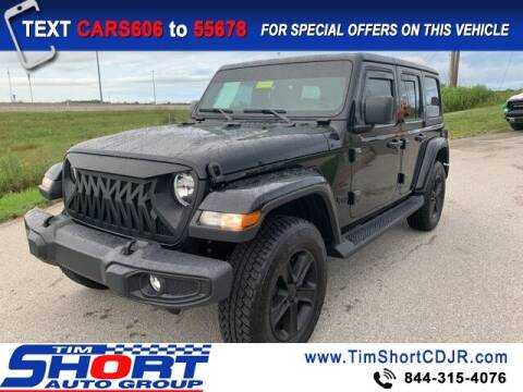 2020 Jeep Wrangler Unlimited for sale at Tim Short Chrysler in Morehead KY