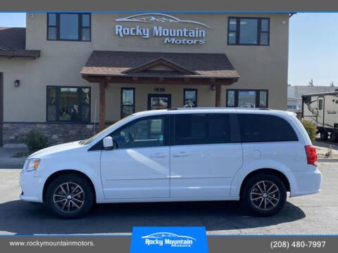 2017 Dodge Grand Caravan for sale at Rocky Mountain Motors in Idaho Falls ID
