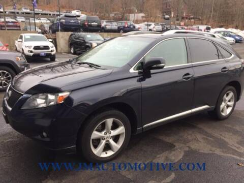 2010 Lexus RX 350 for sale at J & M Automotive in Naugatuck CT