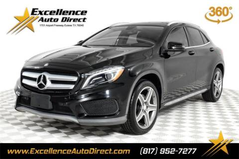 2015 Mercedes-Benz GLA for sale at Excellence Auto Direct in Euless TX