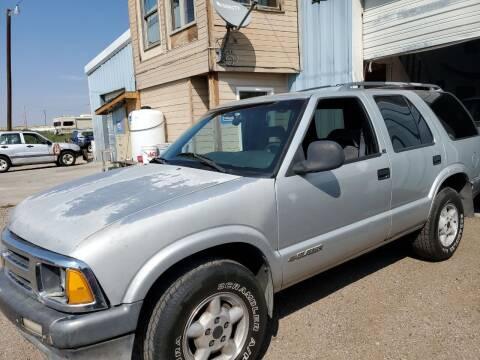 1996 Chevrolet Blazer for sale at PYRAMID MOTORS - Pueblo Lot in Pueblo CO
