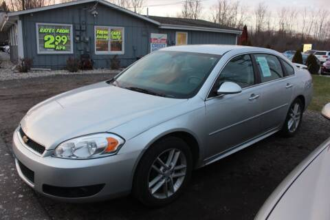 2013 Chevrolet Impala for sale at D & B Auto Sales LLC in Washington Township MI