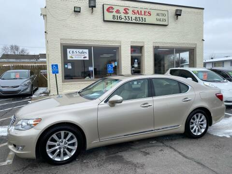2010 Lexus LS 460 for sale at C & S SALES in Belton MO