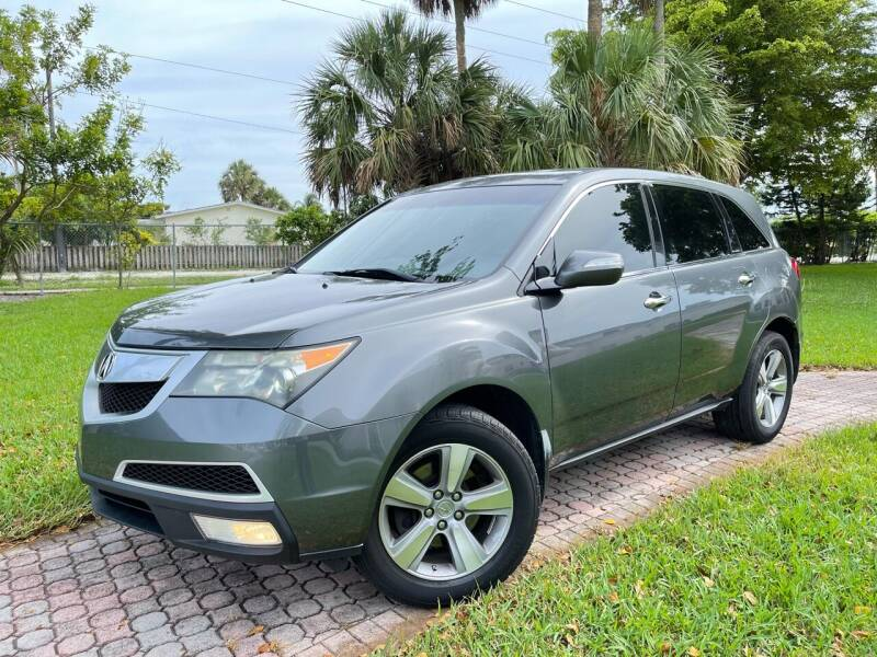 2011 Acura MDX for sale at Citywide Auto Group LLC in Pompano Beach FL