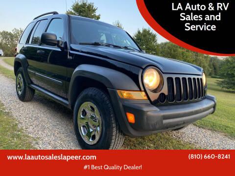 2007 Jeep Liberty for sale at LA Auto & RV Sales and Service in Lapeer MI