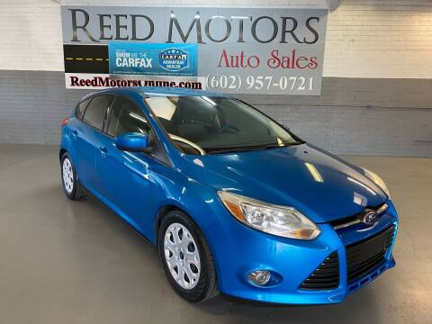 2012 Ford Focus for sale at REED MOTORS LLC in Phoenix AZ