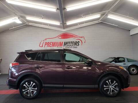 2016 Toyota RAV4 for sale at Premium Motors in Villa Park IL
