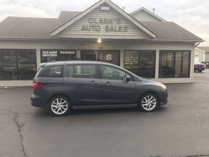2012 Mazda MAZDA5 for sale at Clarks Auto Sales in Middletown OH