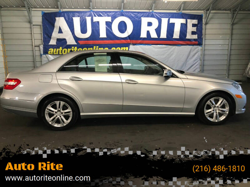 2010 Mercedes-Benz E-Class for sale at Auto Rite in Cleveland OH