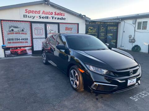 2020 Honda Civic for sale at Speed Auto Sales in El Cajon CA
