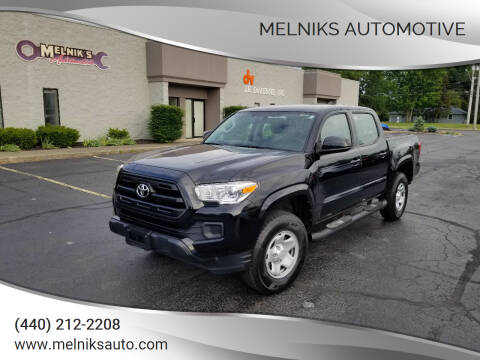 2017 Toyota Tacoma for sale at Melniks Automotive in Berea OH