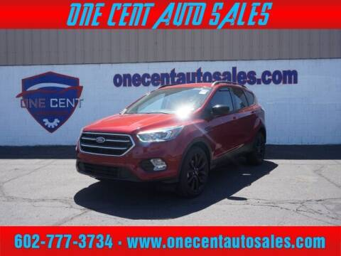 2017 Ford Escape for sale at One Cent Auto Sales in Glendale AZ