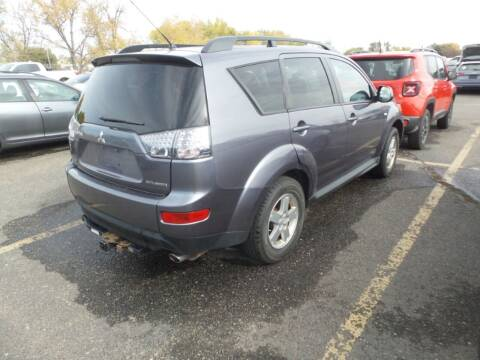 2009 Mitsubishi Outlander for sale at Capitol Hill Auto Sales LLC in Denver CO