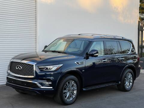 2018 Infiniti QX80 for sale at Corsa Exotics Inc in Montebello CA