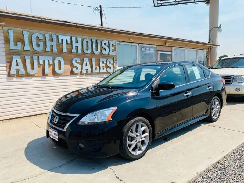 2013 Nissan Sentra for sale at Lighthouse Auto Sales LLC in Grand Junction CO
