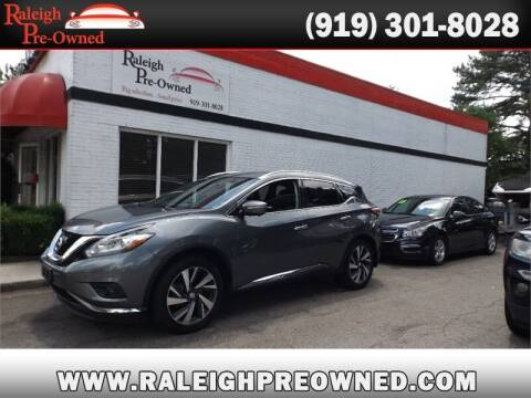 2015 Nissan Murano for sale at Raleigh Pre-Owned in Raleigh NC