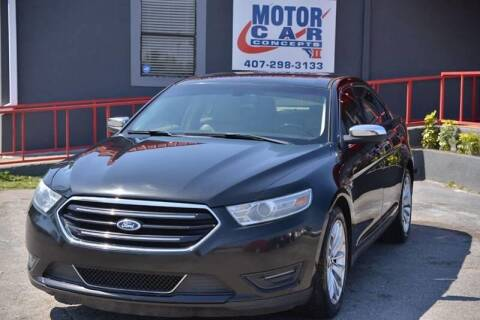 2013 Ford Taurus for sale at Motor Car Concepts II - Kirkman Location in Orlando FL
