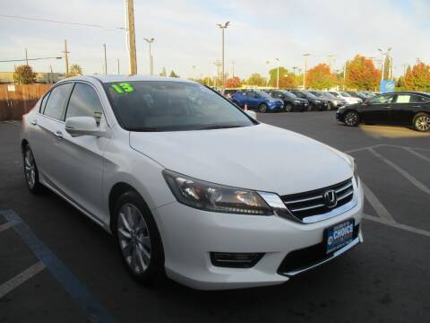 2013 Honda Accord for sale at Choice Auto & Truck in Sacramento CA