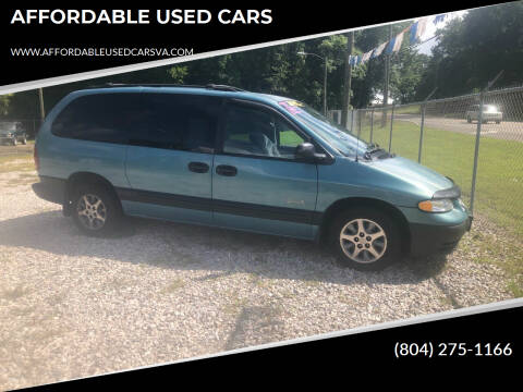 1997 Plymouth Grand Voyager for sale at AFFORDABLE USED CARS in Richmond VA