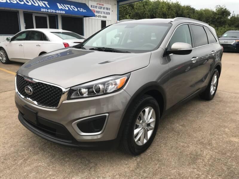2016 Kia Sorento for sale at Discount Auto Company in Houston TX