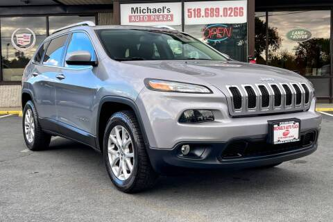 2015 Jeep Cherokee for sale at Michaels Auto Plaza in East Greenbush NY