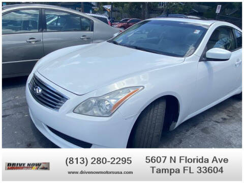 2009 Infiniti G37 Coupe for sale at Drive Now Motors USA in Tampa FL