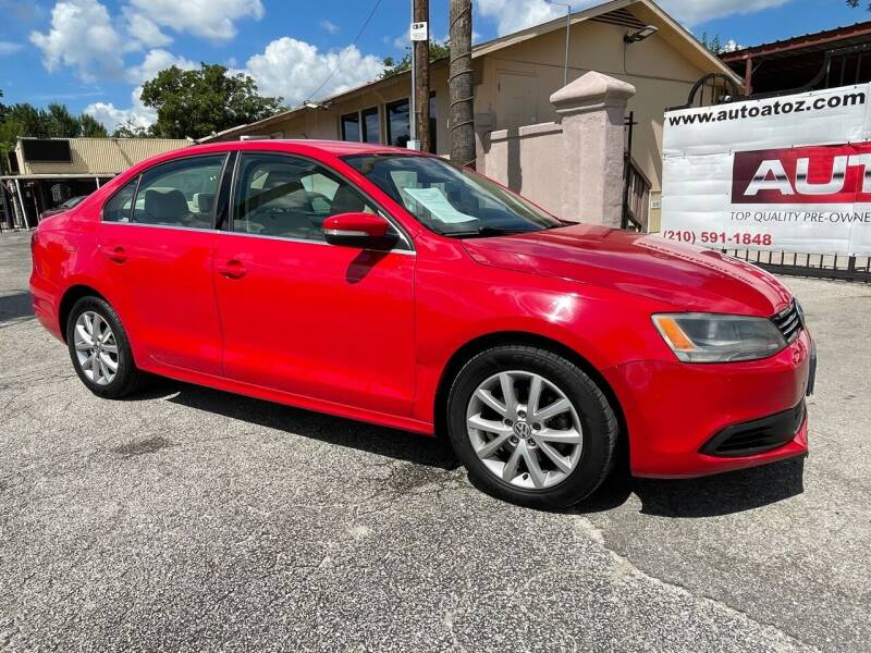2014 Volkswagen Jetta for sale at Auto A to Z / General McMullen in San Antonio TX