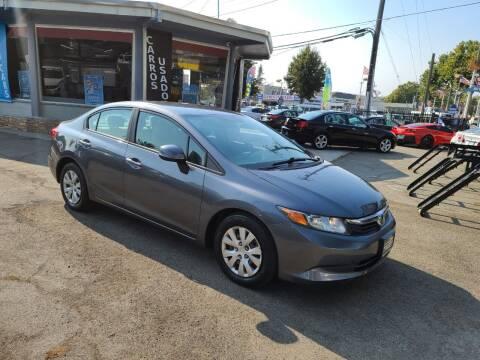2012 Honda Civic for sale at Imports Auto Sales & Service in San Leandro CA