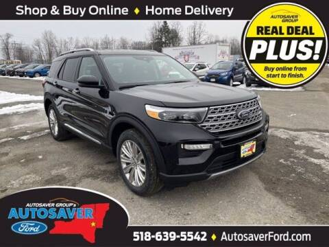 2021 Ford Explorer Hybrid for sale at Autosaver Ford in Comstock NY