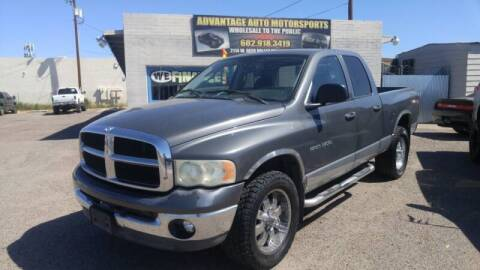 2003 Dodge Ram Pickup 1500 for sale at Advantage Motorsports Plus in Phoenix AZ