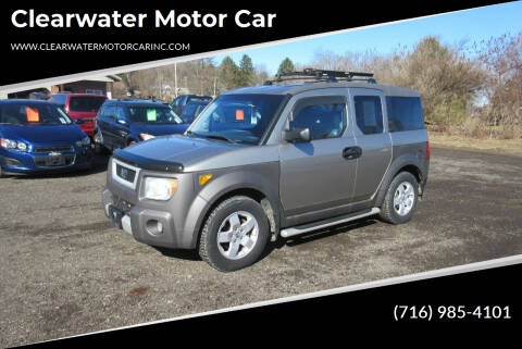 2004 Honda Element for sale at Clearwater Motor Car in Jamestown NY