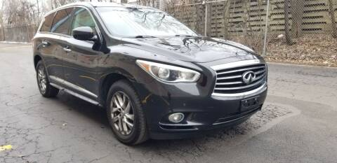 2013 Infiniti JX35 for sale at U.S. Auto Group in Chicago IL