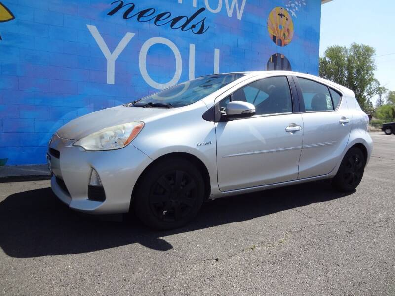 2013 Toyota Prius c for sale at FINISH LINE AUTO SALES in Idaho Falls ID