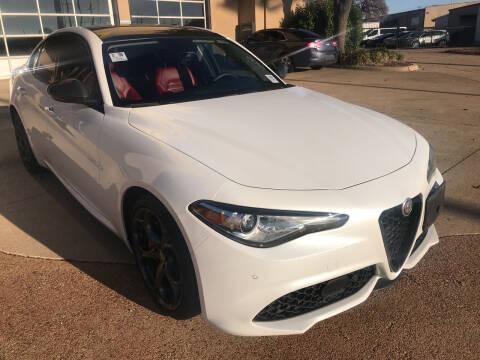 2017 Alfa Romeo Giulia for sale at Auto Haus Imports in Grand Prairie TX