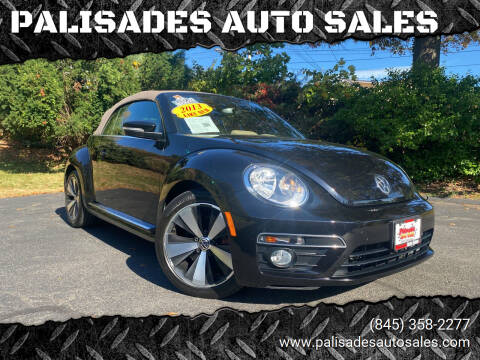 2013 Volkswagen Beetle Convertible for sale at PALISADES AUTO SALES in Nyack NY