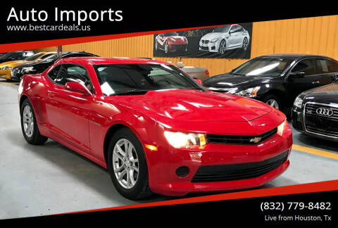 2015 Chevrolet Camaro for sale at Auto Imports in Houston TX