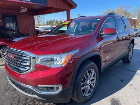 2018 GMC Acadia for sale at HUFF AUTO GROUP in Jackson MI