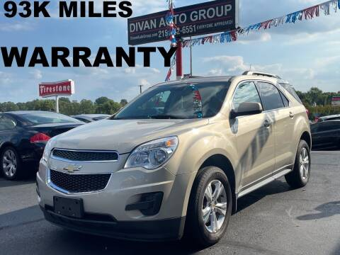 2012 Chevrolet Equinox for sale at Divan Auto Group in Feasterville Trevose PA