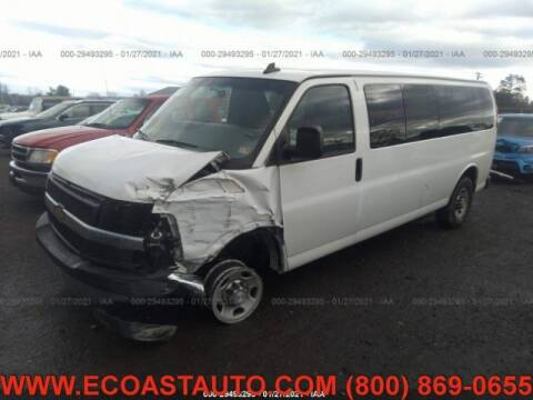 2017 Chevrolet Express Passenger for sale at East Coast Auto Source Inc. in Bedford VA