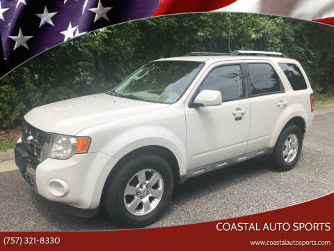 2009 Ford Escape for sale at Coastal Auto Sports in Chesapeake VA