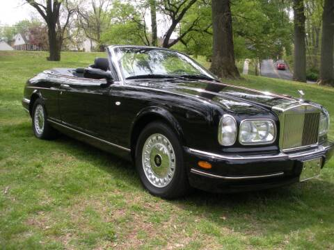 2001 Rolls-Royce Corniche for sale at PALMA CLASSIC CARS, LLC. in Audubon NJ