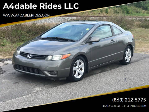 2007 Honda Civic for sale at A4dable Rides LLC in Haines City FL