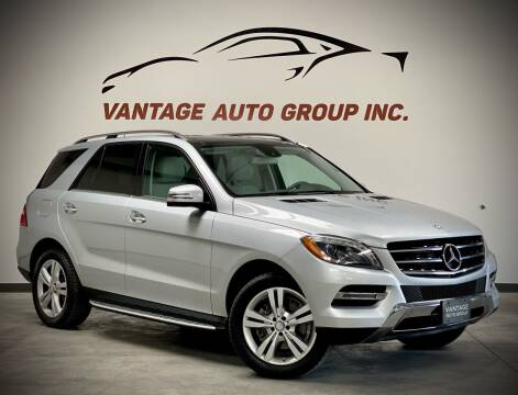 2013 Mercedes-Benz M-Class for sale at Vantage Auto Group Inc in Fresno CA